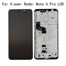 ЖК дисплей 1080*2280 для xiaomi redmi note 6 pro сенсорный экран