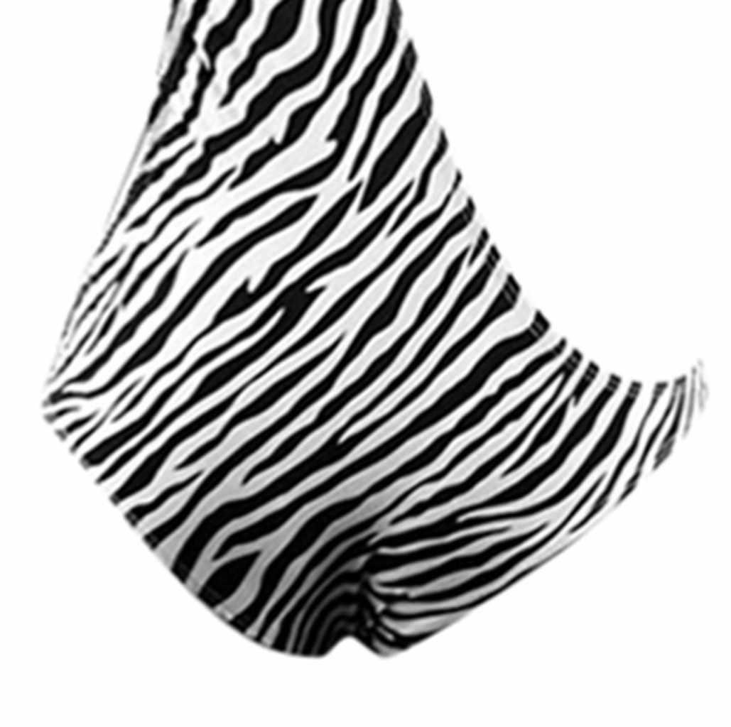 Slips Mannen Sexy Ondergoed Cosplay Jumpsuit Voor Volwassen Mannelijke Slipje Katoen Strakke Zebra Twill Ropa Interieur Hombre 2020
