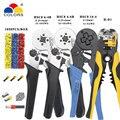 Мини плоскогубцы электрические провода обжимные инструменты трубчатые Клеммы Коробка Набор 1050p HSC8 16-4 4-16mm2 AWG11-5 6-4B/6-6 0 25-6mm2 AWG23-10