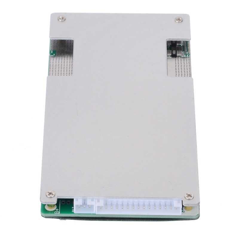 Módulo do pwb bms da bateria do lipo do lítio da placa de proteção de 17 s 60 v 45a