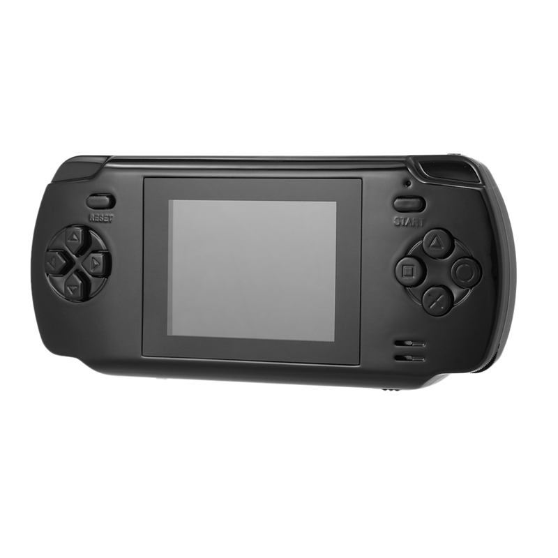 Powkiddy S600 2.8 Inch Game Console Built-In 68 Classic Games 8-Bit Av Out Video Handheld Gamepad Black