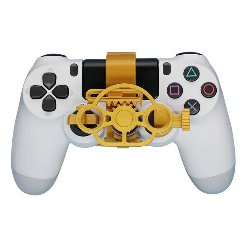 Игровой гоночный руль мини контроллер руля для Sony PlayStation PS4 3D печатных аксессуаров