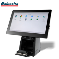 Gainscha Android POS System, touch screen all in one 80mm Thermal Printer
