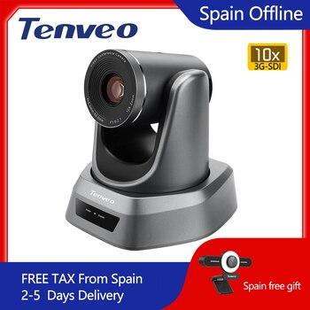 [Estoque da ue] livre de impostos nv10a 10x zoom 2mp 1080p ptz câmera de vídeo conferência usb 3g-sdi e hdmi 3 saídas para transmissão multimídia