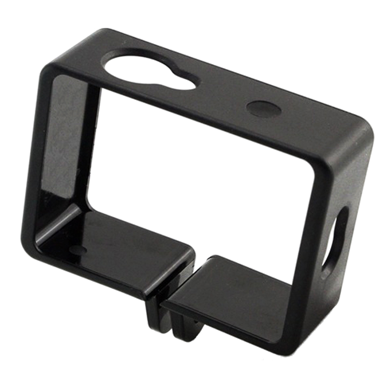 Super Sell-Protective Housing Side Border Frame Case For Xiaomi Yi Xiaoyi Action Sport Camera Accessories Black