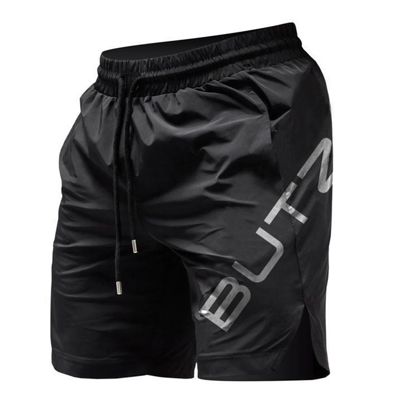 Summer Mens Fitness Shorts Bodybuilding Joggers Quick-drying Cool Shorts 2019 Pants Male Casual Brand Sweatpants Gyms Shorts Men