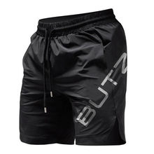 Summer Mens Fitness Shorts Bodybuilding Joggers Quick-drying Cool Shorts 2019 Pants Male Casual Brand Sweatpants Gyms Shorts men(China)