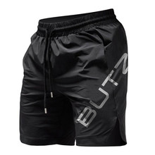 Summer Mens Fitness Shorts Bodybuilding Joggers Quick-drying