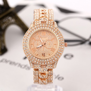 2020 Women watches diamond gold watch ladies luxury brand rhinestone women Bracelet woman Relogio Feminino