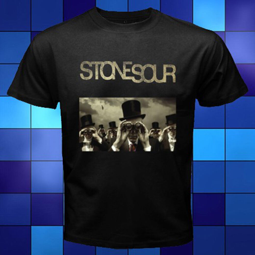 Stone Sour Rock Band *Come What(ever) May Album Black T-Shirt Size S To 3XL image