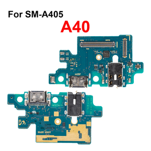 Image 3 - 1Pcs Usb poort Opladen Dock Connector Board Charger Flex Met Microfoon Voor Samsung Galaxy A10 A20 A30 A40 A50 a70 Reparatie Deel