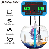 PH 2826 PH Meter 3 in1 PH/TEMP/TDS Controller TDS Detector Water Quality Monitor Water Purity Tester for Poor Aquarium 40%OFF