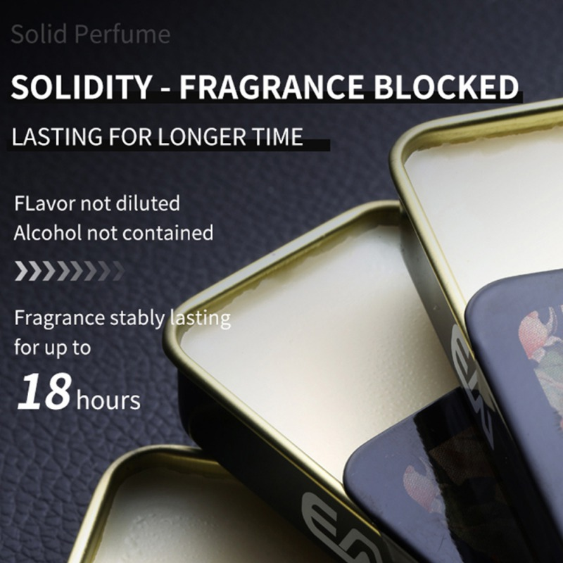 Solid Perdume Men Fragrances Women Portable Case Perfume Staying  attactive Long time Aroma Deodorant Fragrance 3