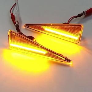 Image 3 - 2Pcs דינמי מהדר מנורות LED צד מרקר אור עבור רנו מגאן 2 CC/Vel Satis/רוח/avantime/גרנד סניק 2/Espace 4/תאליה