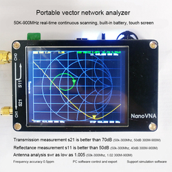 NanoVNA Nano VNA Vector Network Analyzer Antenne Analysator Standing Wave