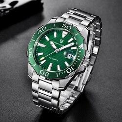 2020 PAGANI DESIGN Top Marke Männer Uhr Military Sport Automatische Mechanische Uhren Wasserdicht Edelstahl Relogio Masculino