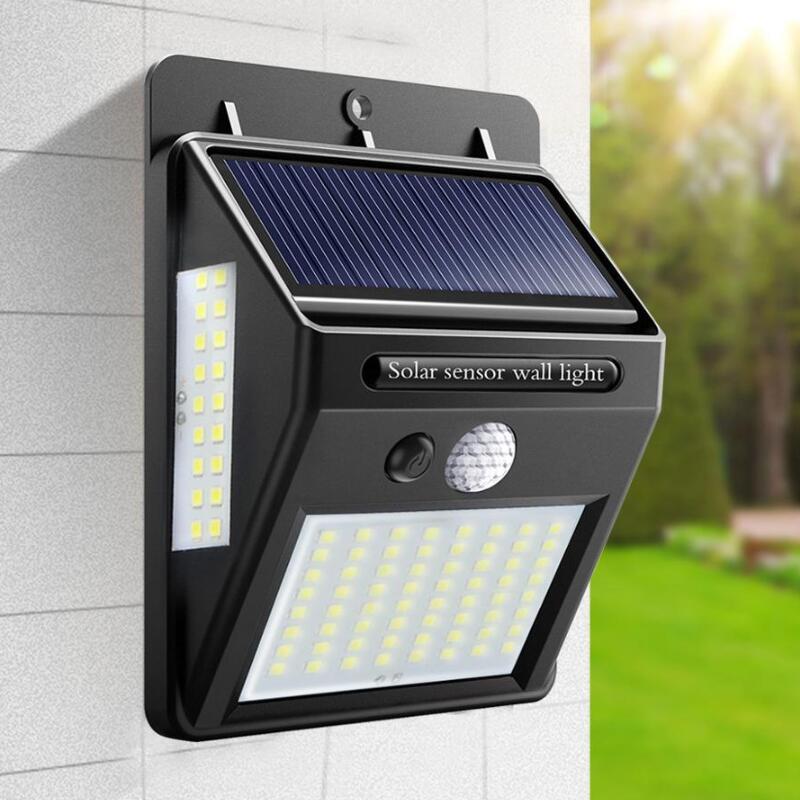 PIR Motion Sensor LED Light 20 LEDs Rechargeable Power Cabinet Lamp Home Light Outdoor Garden Street Night Security Lamp