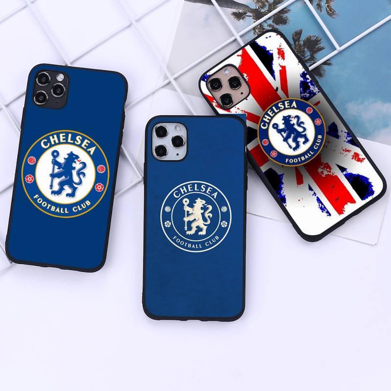 Чехол для телефона клуб Челси для iphone 12 11 Pro Mini XS MAX 8 7 6 6S Plus X 5S SE 2020 XR