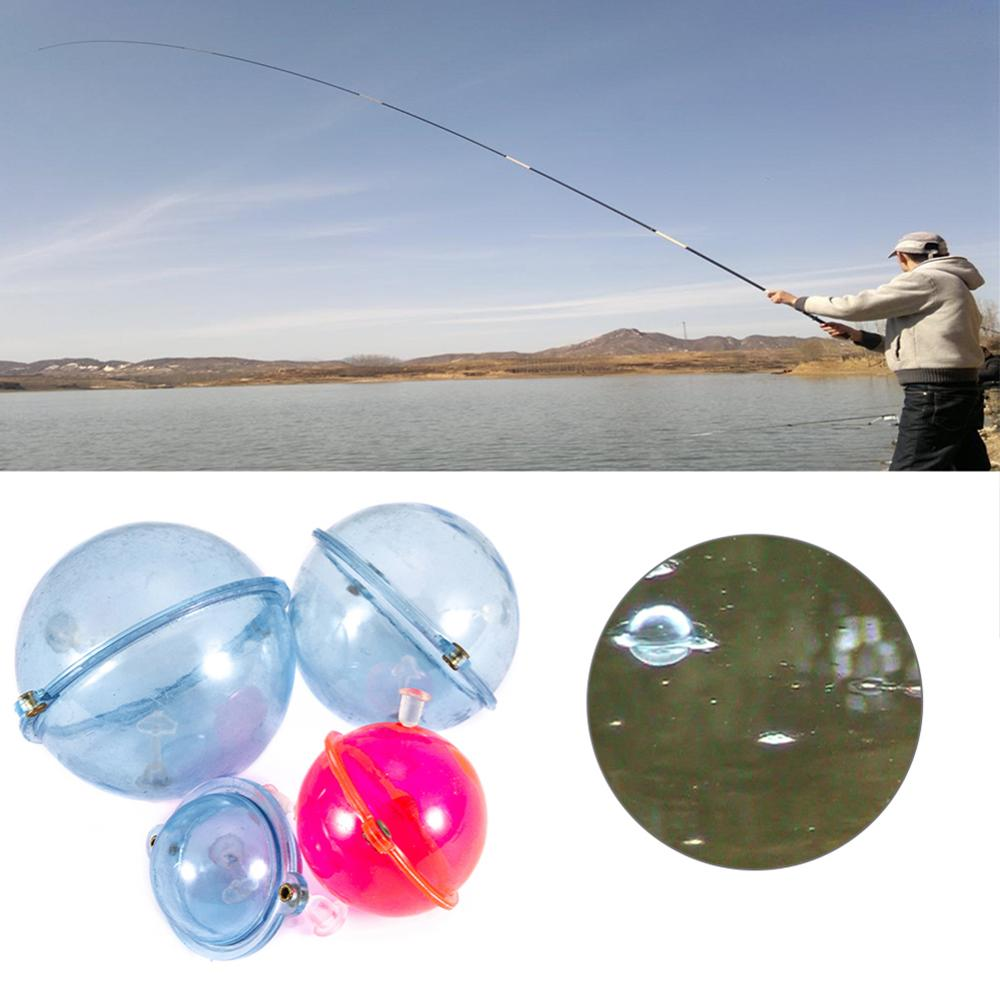 5 Pcs/Set Fishing Float ABS Plastic Balls Water Ball Bubble Floats Tackle Sea Outdoor Fishing Accessories Blue Red 25/32/40/47mm