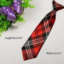 Детские эластичные галстуки для мальчиков и девочек, повседневные Галстуки на шею, аксессуары для свадебной вечеринки HD0001b