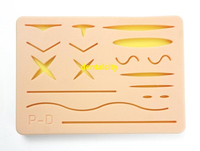 Image 3 - 人間の外傷性皮膚モデル縫合トレーニングパッド縫合トレーニングキットのためドクターナース学生練習ツール -    グループ上の 美容