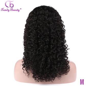 Brazilian Kinky Curly Human Hair Wig 4x4/13x4 Lace Front Wig 150% Density Trendy Beauty Non-remy 100% Human Hair lace front Wigs trendy beauty hair body wave lace front wig non remy lace front wig 150