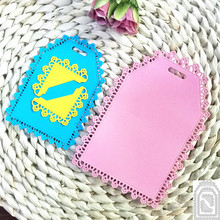 Frame Dies Lace-Tags Knife-Stencil Decorative Embossing-Punch Scrapbooking Paper-Cards-Making