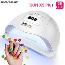 SUN X5 Plus lampa uv do paznokci suszarka do paznokci 36 Leds do żel do manicure paznokcie lampa suszenie narzędzia do paznokci do lakieru żelowego