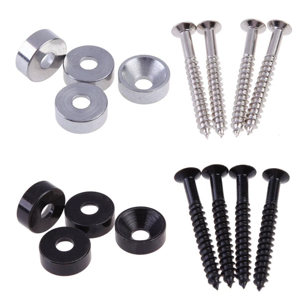 4 Neck Joint Bushings and Bolts for Electric Guitar Electric Guitar Parts