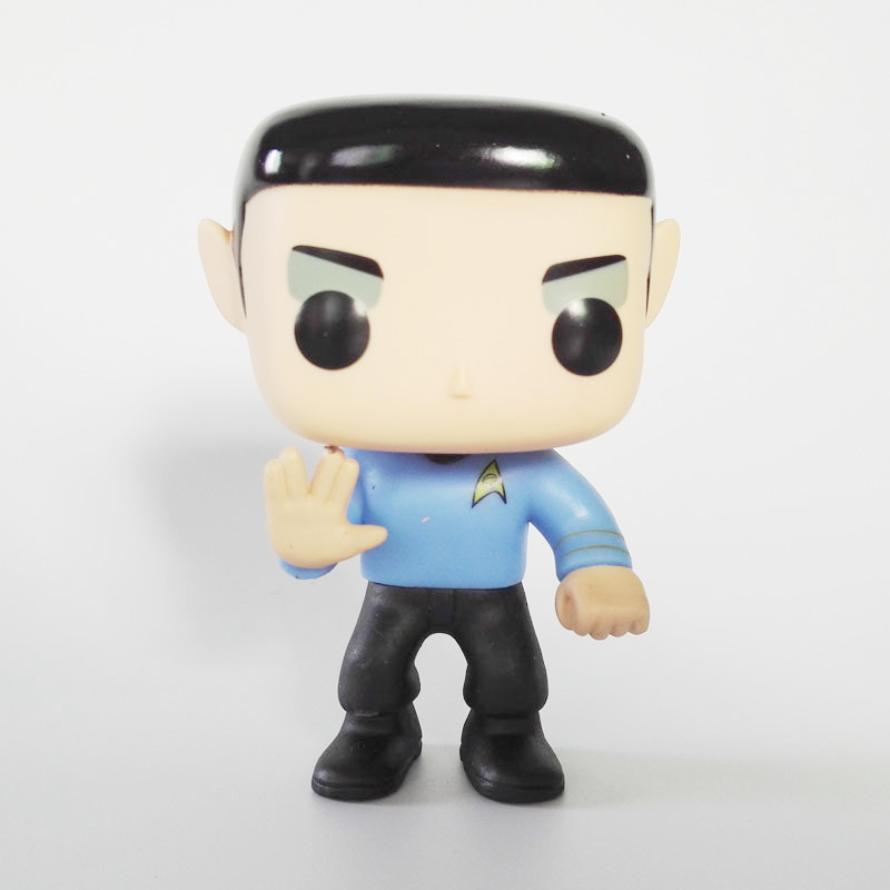 Hot america movies Star Trek Beyond 82 action figures 10cm Spock model toys doll collection for gifts image