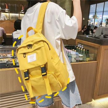 Teenage Girls School Bags Oxford Women Backpack Student Middle High Schoolbag Teen Bookbag Lightweight Bagpack College