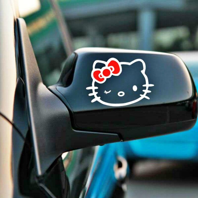 Aliauto 2 X забавные наклейки на зеркало заднего вида автомобиля и наклейки аксессуары для Volkswagen Polo Golf 11X8 см