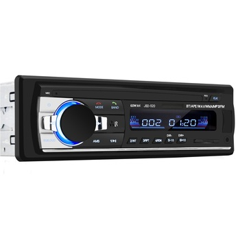 1din car stereo radio for car mp3 player with usb/sd/bluetooth 4x60w FM image