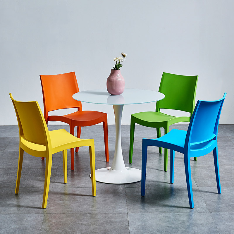 Modern Stylish Plastic Chairs Dining Chairs for Dining Rooms Restaurant Furniture Living Room Bedroom Kitchen Cafe Dining Chairs