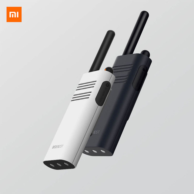 Original Xiaomi Beebest Smart Walkie talkie 1 5 km call 16 channel anti jamming Long standby handheld smart interphone