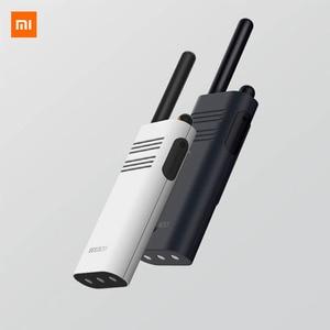 Image 1 - מקורי Xiaomi Beebest חכם מכשיר קשר 1 5 קילומטר שיחת 16 ערוץ נגד שיבוש ארוך המתנה כף יד חכם האינטרפון