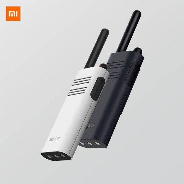 מקורי Xiaomi Beebest חכם מכשיר קשר 1 5 קילומטר שיחת 16 ערוץ נגד שיבוש ארוך המתנה כף יד חכם האינטרפון