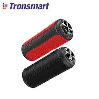 Edizione aggiornata Tronsmart T6 Plus 40W altoparlante portatile altoparlante Bluetooth 5.0 colonna con IPX6,NFC, scheda TF, unità Flash USB