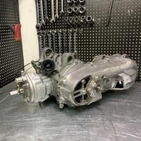Motor 110cc jog50 jog90 3kj completo conjunto de corrida grande furo cilindro kit virabrequim curso longo 3mm peças tuning jog