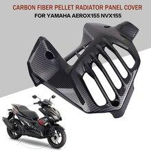 עבור ימאהה AEROX 155 NVX 155 רדיאטור פנל כיסוי סיבי פחמן דפוס
