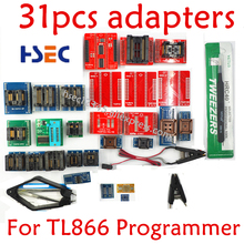 Adapters Tl866-Programmer SOP8 TSSOP28 Tl866ii Test-Clip Original for 31pcs Ic SOP16