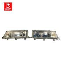 BOOST คู่ไฟหน้าสำหรับ Toyota Carib Sprinter AE95 AE114 1988 1989 1990 1991 1994 1998 1999 ไฟหน้ารถ