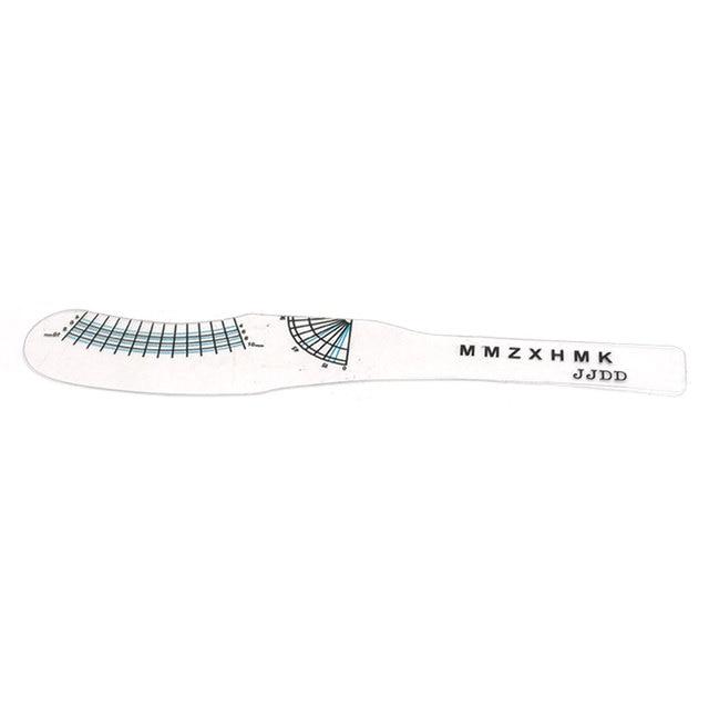NEW Maquillaje Eyelash ruler measure  ruler eyelash card makeup tools for eye mascara #20 4