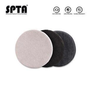 Image 2 - SPTA قرص تلميع جينز ، 6 بوصات (150 مللي متر ، قرص إزالة قشر البرتقال ، سروال قصير ، طقم وسادة تلميع للسيارة للوحة دعم 5 بوصات