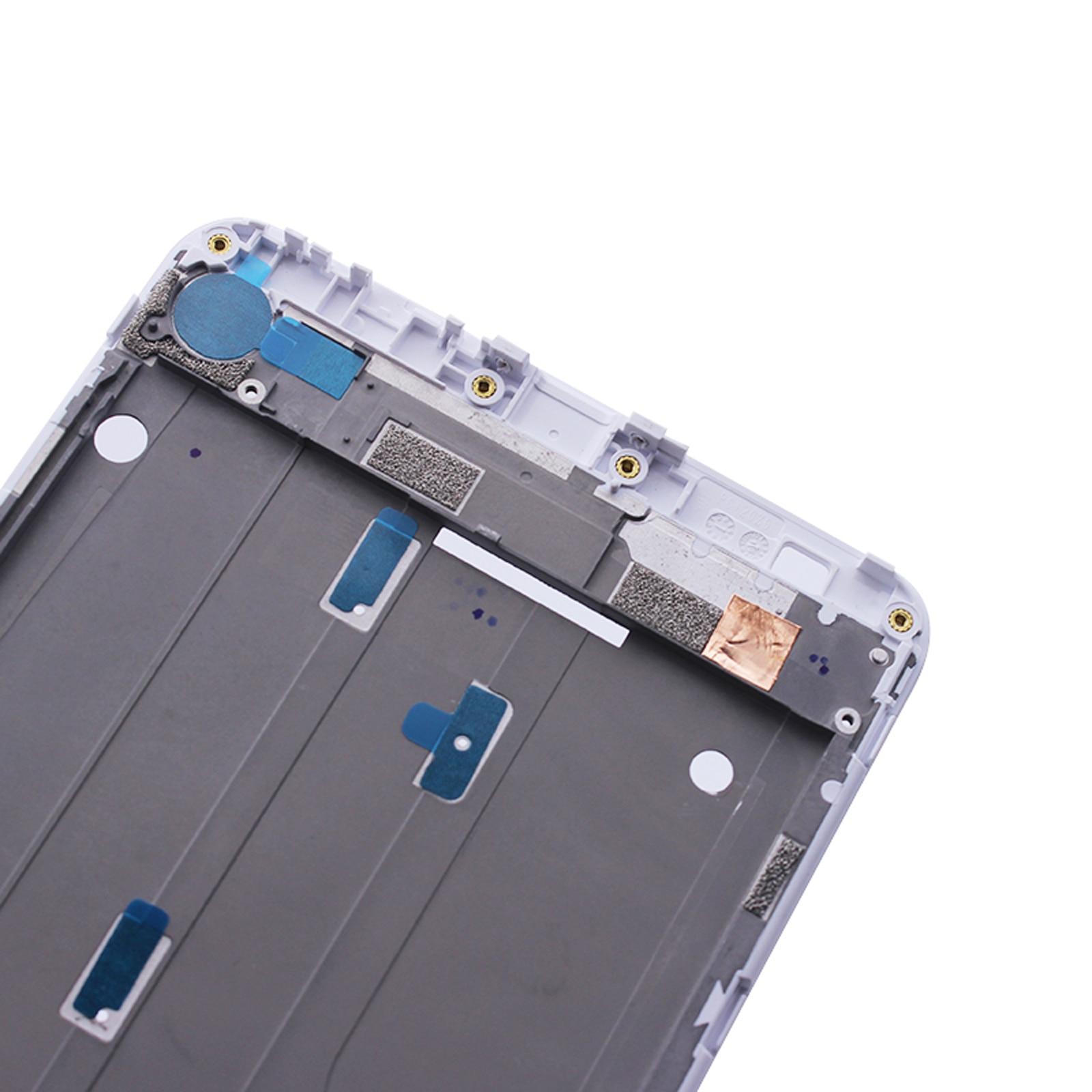 """מקרנים ופלאזמות Shyueda על המקורי בניו 6.44"""" במשך Xiaomi Mi מקס 2 MDE40 MDi40 MDT40 קדמי מסגרת התיכון מסך Bezel והשיכון (4)"""