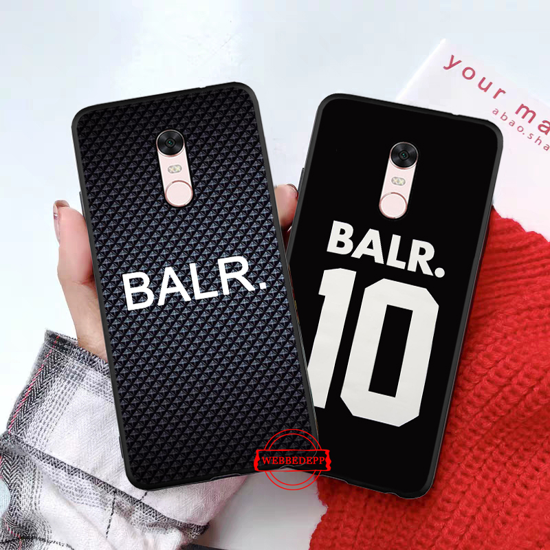 WEBBEDEPP BALR Luxury Coque Silicone Case for Xiaomi Redmi Note 4X 5 6 7 Pro 5A Prime in Fitted Cases from Cellphones Telecommunications
