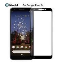 Gehärtetem Glas Für Google Pixel 3a XL 4 XL 3 XL 2 XL Volle Körper Glas Für Google Pixel XL screen Protector Gehärtetem Film