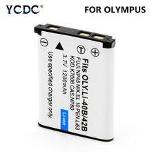 Nikon – batterie de caméra Rechargeable, 3.7V, 1,2 ah, Li 40B, 42B, Li40B, pour Olympus Leise, Fuji NP45, Original