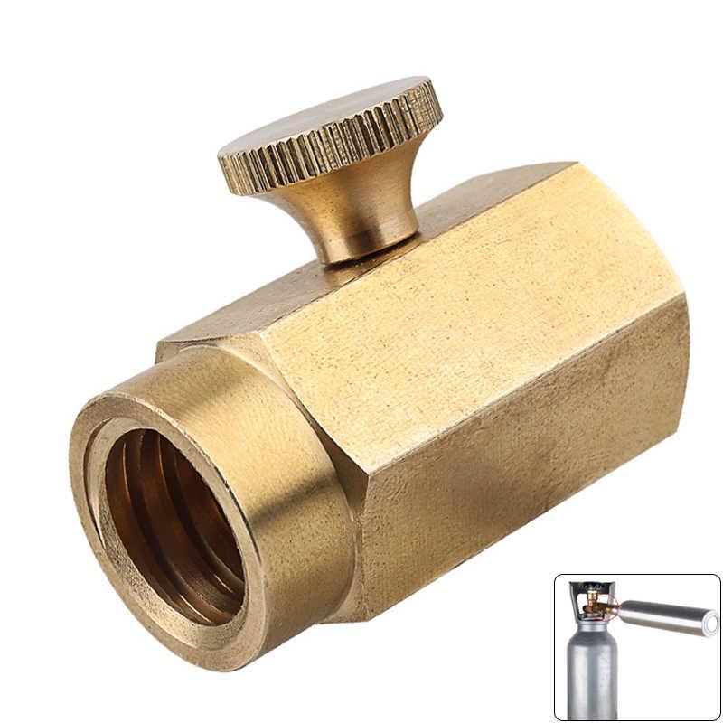 Dabixx Adaptador r/ápido de Conector de Adaptador de Gas enfriado por Agua antorcha de Soldadura TIG 8 mm de Enchufe Azul