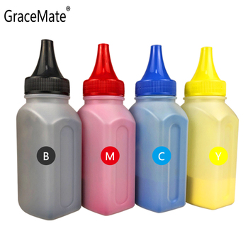 GraceMate Refill Toner Powder Compatible for OKI C710 C710N C711 C710DN C711DTN Printers Color Toner Powders 4x non oem toner refill kit toner powder bottle compatible for hp 126a cp1025 cp1020 cp1025nw ce310a ce313a kcmy free shipping